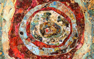 Concentric Movement – Original Acrylic Painting by Clint Eccher